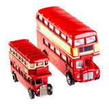 Two buses Stock Images