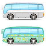 Two buses Stock Image