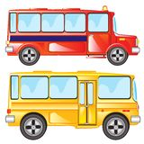 Two buses Royalty Free Stock Photo