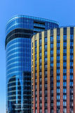 Two business buildings Royalty Free Stock Photography