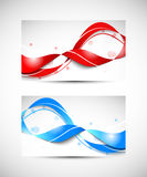 Two business cards Royalty Free Stock Photo