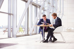 Free Two Business Colleagues At Meeting In Modern Office Interior Royalty Free Stock Photo - 59935005