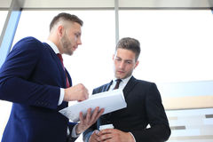Two business colleagues Royalty Free Stock Image