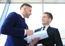 Two business colleagues Royalty Free Stock Photography