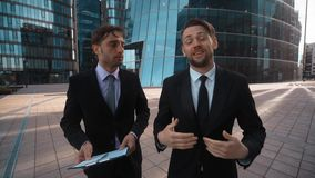 Two business competitors try to make You offer stock footage