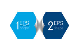 Two business elements banner. Royalty Free Stock Image