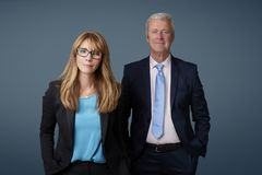 Two business executives Stock Photography