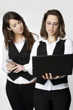 Two business girls Royalty Free Stock Image