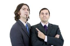 Two business men Stock Photos