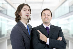 Two business men. At the office Royalty Free Stock Image