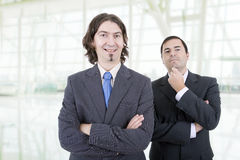 Two business men. At the office Stock Images