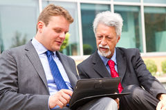 Two business men Royalty Free Stock Images