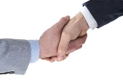 Two business men shaking hands Royalty Free Stock Image