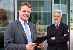Two business men Royalty Free Stock Photos