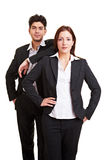 Two business partners Royalty Free Stock Photos