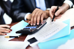Two business partners Royalty Free Stock Photo