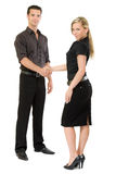 Two business people shaking hands Royalty Free Stock Image