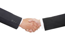 Two business personshake hand Royalty Free Stock Photography