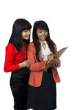 Two Business Woman Stock Photo