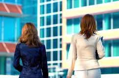 Two Business Women Royalty Free Stock Image