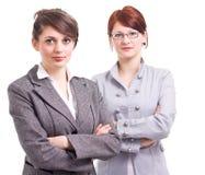 Two business women Stock Photos