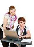 Two business women Stock Photography