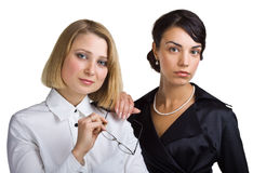 Two business women Stock Photo