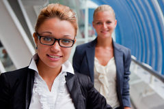 Two business women Stock Photos