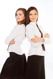 Two business women Royalty Free Stock Photography