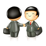 Two businessman Royalty Free Stock Images