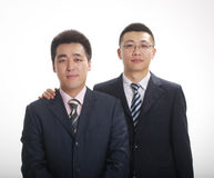 Two businessman Stock Images
