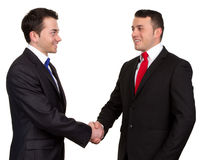 Two businessman Stock Photos