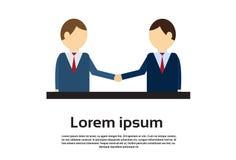 Two Businessman Hand Shake, Business Man Handshake Agreement Concept Stock Photography