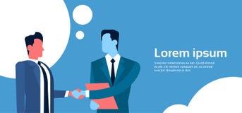 Two Businessman Hand Shake, Business Man Handshake Agreement Concept Royalty Free Stock Photos