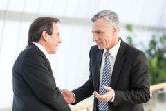 Two businessman Royalty Free Stock Image