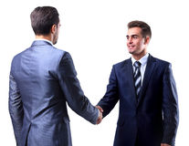 Two businessman shaking hands Royalty Free Stock Image