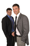 Two businessmen Stock Photo