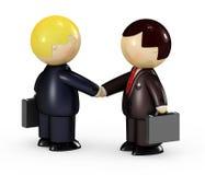 Two Businessmen Stock Photo
