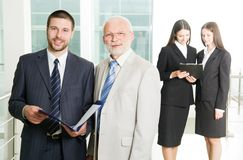 Two businessmen Stock Image