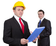 Two businessmen Royalty Free Stock Photography