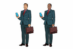 Free Two Businessmen African American And Caucasian Royalty Free Stock Image - 95191816