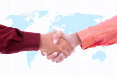 Global partnership Stock Image
