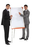 Two businessmen Royalty Free Stock Photo