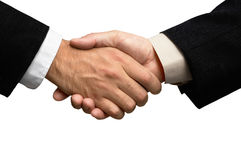 Free Two Businessmen Shaking Hands Stock Photography - 1156802