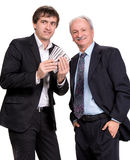 Two businessmen Stock Images