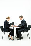 Two businesspeople Royalty Free Stock Images