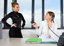 Two businesswoman Royalty Free Stock Image