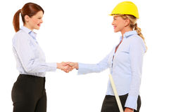 Two businesswomen Royalty Free Stock Photo