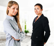 Two businesswomen Stock Photo