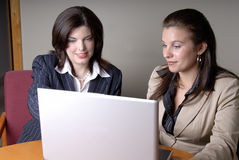 Two Businesswomen Royalty Free Stock Photos